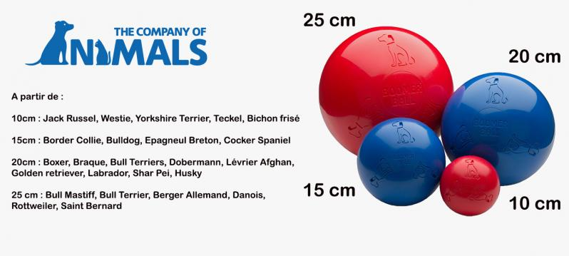Bommer ball tailles