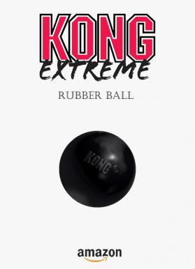 Extreme rubber ball kong