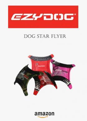 Ezydog dog star flyer freezbe