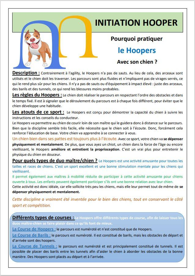 Fiche image initiation hoopers