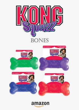 Kong squeezz bones