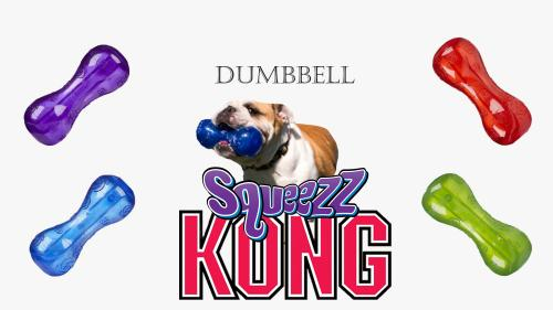 Kong squeezze dumbbell