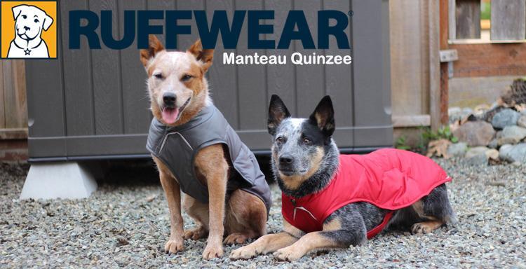 Manteau quinzee ruffwear