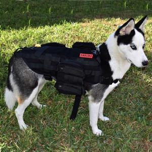 Onetigris chien militaire chasse gilet harnais chiens accessoires sortir avec votre chien dans la nature