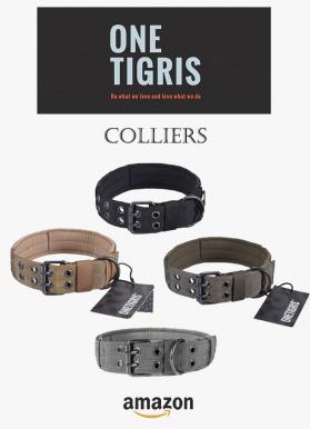 Onetigris colliers plats