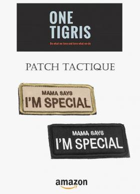Onetigris patch tactique