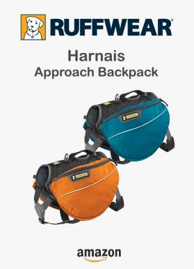 Ruffwear harnais approach backpack