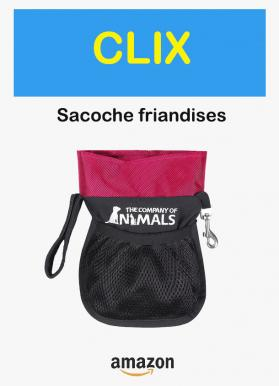 Sacoche friandise clix